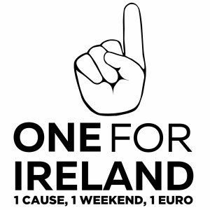 One for Irleand Logo Black JPEG