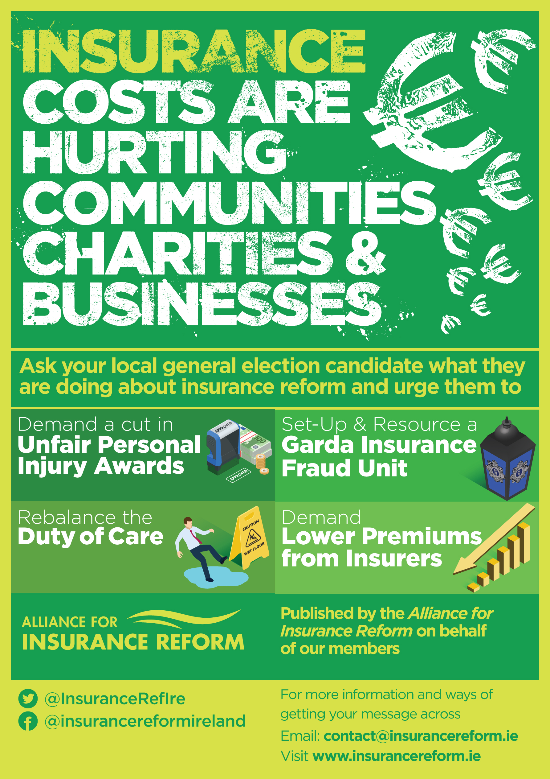 Ask your local candidate about insurance reform